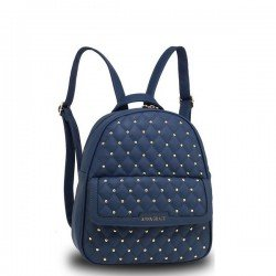 Anna Grace Backpack Navy/Μπλέ AG00712