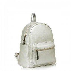 Anna Grace Silver/Ασημί Backpack/Tσάντα Πλάτης (AG00186C)